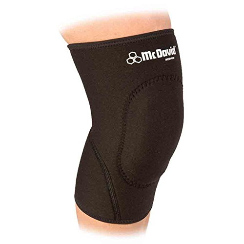 McDavid Classic Logo 410 CL Level 1 Knee Support Sorbothane Pad Black X-Large