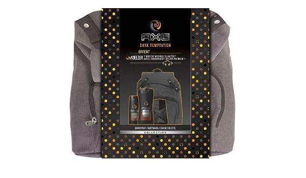 Axe Dark Temptation - Set de regalo con perfume de gel de ducha, mochila + Deezer: Amazon.es: Belleza