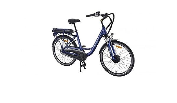 Wayscral City 520 Bicicleta eléctrica (36 V), azul: Amazon.es ...