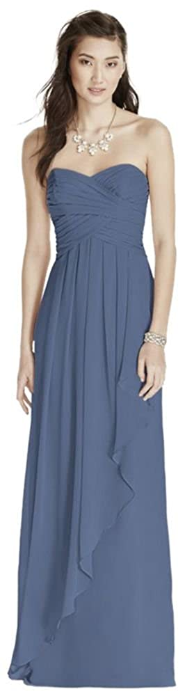 ebafce4673c2 Chiffon A timeless look, perfect for a wedding party or any special event.  The longer length embodies a modest, elegant and classic look. This Dress  ...