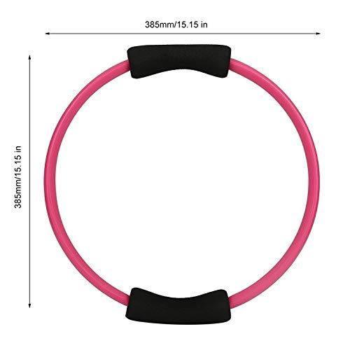 Goldyqin Massage-Schleife Pilates Ring Magic Circle Dual-Grip Sportartikel Pilates Yoga-Ring-K/örper Gewicht verlieren /Übung Fitnessger/äte