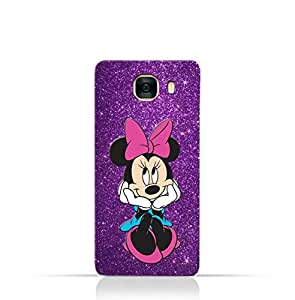 Samsung Galaxy C7 TPU Silicone Case with Minnie Mouse Design