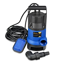 Neiko 50637 Submersible Water Pump with Float Switch for Aquariums, Fountains, Hydroponics and Ponds 1/2 HP