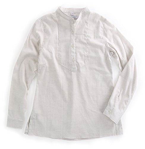 Womens Long Sleeve Twill Shirt - 3