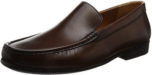 Clarks enfiler Chaussures Plain à Marron de 8 Claude formelles ville vrSqv0H