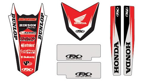 (Factory Effex (17-50302 Standard Trim Graphic Kit )