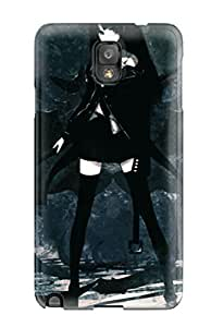 Excellent Design Black Rock Shooter Phone Case For Galaxy Note 3 Premium Tpu Case