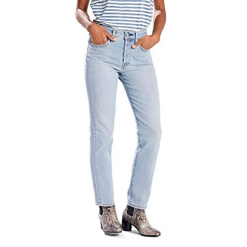 Levi's Women's Wedgie Fit Jeans, Bauhaus Blues, 30W x -