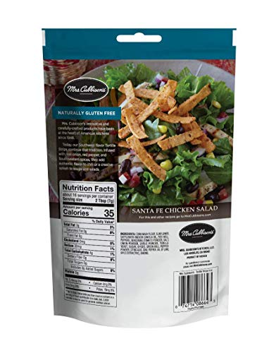 Mrs. Cubbison's Tortilla Strips, Southwest Flavor, 4 Ounce (Pack of 9)