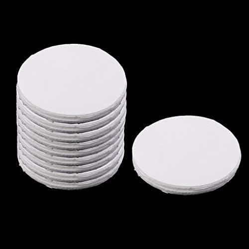 CUTICATE 約100個入り セラミックファイバー 断熱 セラミックファイバー耐火布 丸型 直径約115mm