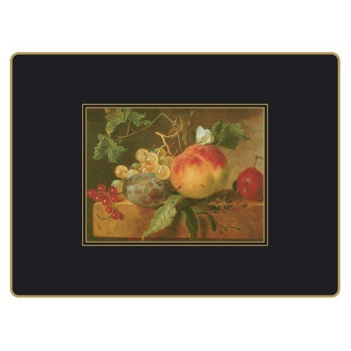 Lady Clare Placemats - 17th Century Still Life - Set of 4 Continental Mats by Lady Clare Placemats