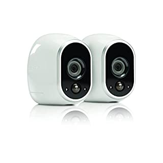 Netgear Arlo Smart Security - 2 HD Camera Security System,Wire-Free, Indoor/Outdoor with Night Vision (VMS3230) (VMS3230 (Renewed)