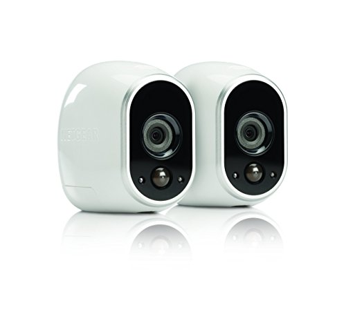 Arlo Security System by NETGEAR - 2 Wire-Free HD Cameras, Indoor/Outdoor, Night Vision (VMS3230) - Old Version (Certified Refurbished)