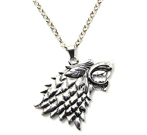 BlingSoul Got Stark Necklace Game Of Thrones Jewelry - Eddard Stark Got Necklace For Girls