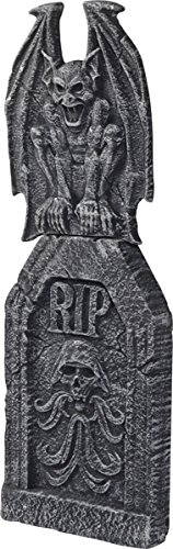 Morris Costumes Halloween Tombstone gargoyle ornate - Stone Statue Halloween Costume