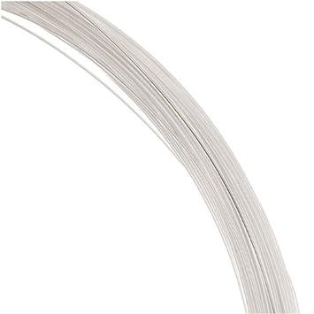 Amazon.com: 1 Oz. (76 Ft.) 99.9% Fine Silver Wire 26 Gauge Round ...