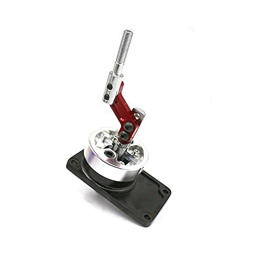 Racing Short Throw Quick Shifter for 83-04 Ford Mustang /83-88 Thunderbird /85-90 Cosworth T5 Red ( Fit T45/T5 Manual Transmission Shifter ONLY ()