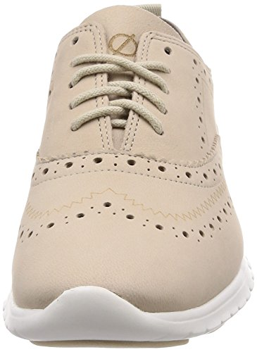 Women's Oat Nubuck Zerogrand Tip Oxford Wing Cole Haan Sq5wpp
