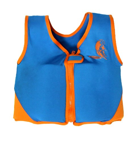 - Boys Blue/orange Swim vest Learn-to-Swim Floatation Jackets Size small for Kids Age 1.5-3.5 Years Old