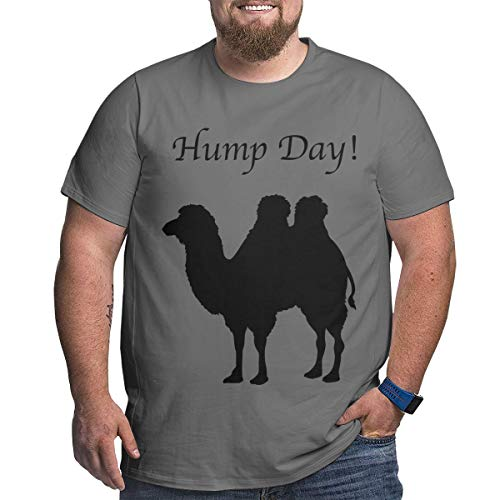 nordic runes Hump Day Camel Big and Tall Mens Short Sleeve T-Shirts for Mens -