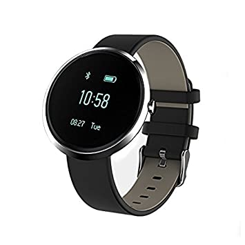 Reloj inteligente, PowerLead Bluetooth reloj ritmo cardíaco monitor ...