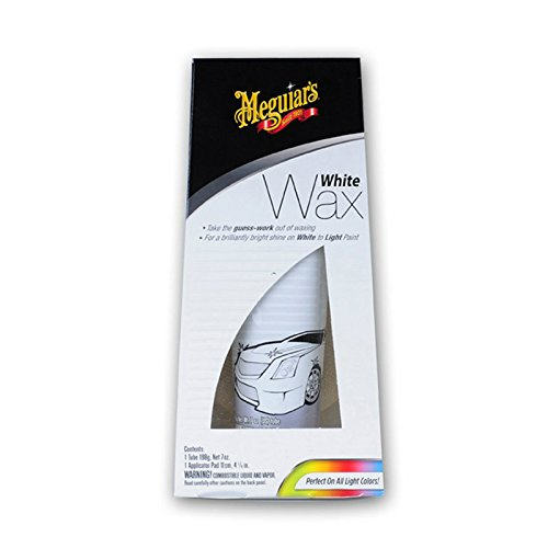 Meguiar's G6107 White Wax Paste (Best Car Polish For White Cars)