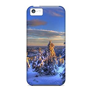 meilz aiaiSeries Skin Cases Covers For Iphone 5c(trees Winter)meilz aiai