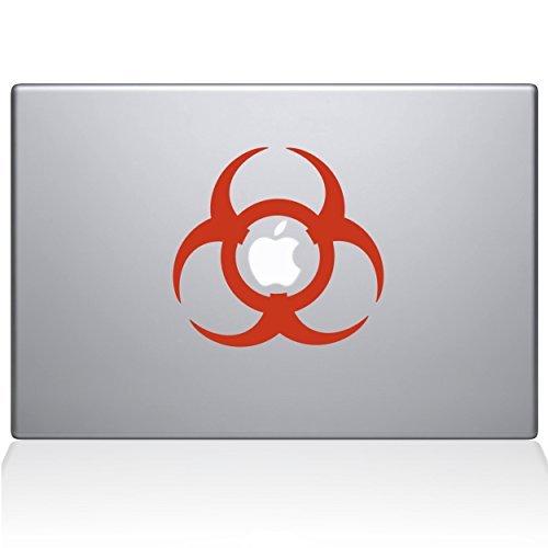【海外輸入】 The Decal Guru Toxic Macbook Macbook B0788GP979 Decal - Vinyl Sticker - 15 Macbook Pro (2015 & older) - Orange (1201-MAC-15P-P) [並行輸入品] B0788GP979, 内之浦町:5c9e0e93 --- a0267596.xsph.ru