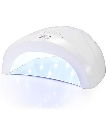 Abody Secador de Uñas 48W/24W Profesional Lámpara LED UV Uñas con 3 Temporizadores y