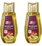 Dabur Almond Hair Oil For Damage Free Hair - 100ml (Pack of 2)