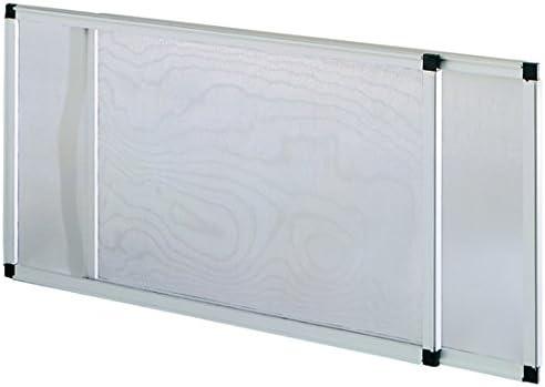 Vigor 75010 mosquitera, extensible, anodizado, Altura de 50 x 70 ...