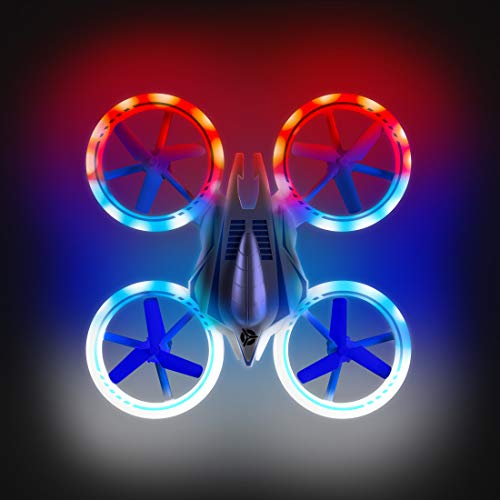 Mini Drones for Kids - UFO 4000 360 Flip Stunt Drone Multicolor LED RC Quadcopter Gifts for Boys and Girls -