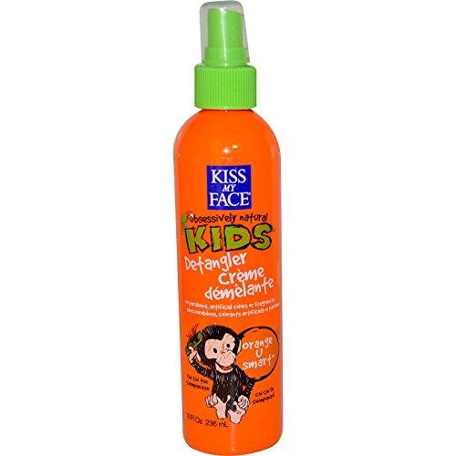 Kiss Kids Obsessively Natural (Kiss My Face, Obsessively Natural Kids, Detangler Creme, Orange U Smart, 8 fl oz (236 ml) - 2PC)