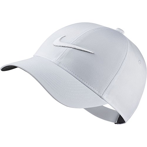 NIKE Women's L91 Cap Core Hat, White/Anthracite/White, Misc