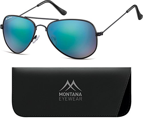 de Montana Matt Unisex Adulto Revo Black Gafas Multicoloured Sol Blue BwFTF