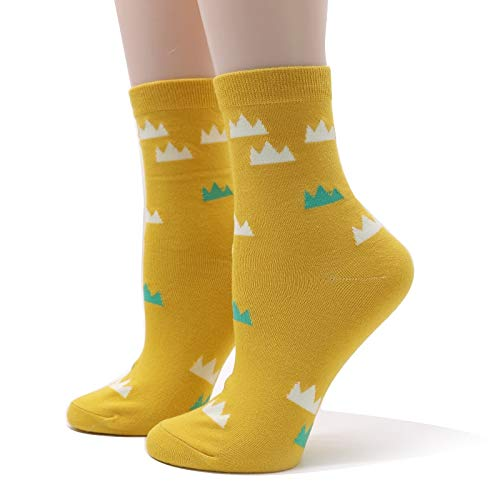 Amazon.com: Wall of Dragon 5pairs Fashion Women Cute Cotton Socks Egg Striped Funny Casual Socks Meias Novelty Art Ankle Socks for Ladies Girls Calcetines: ...