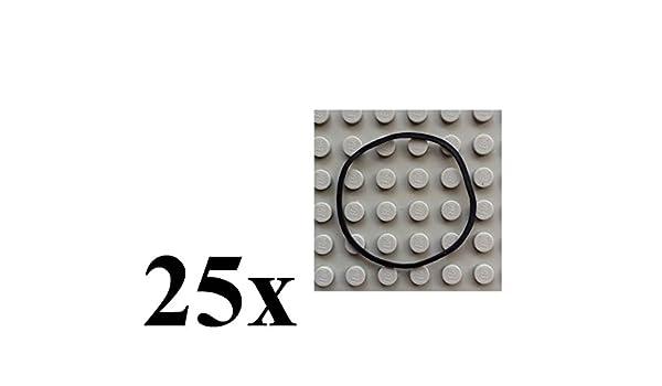 Lego x37 Gummiband Gummiring Rubber Band Medium aprox 3x3 Round Cross Section