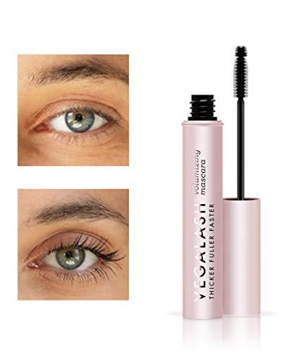 vegaLASH Volumizing Mascara Noir by Vegamour, Black, 100% Vegan, Natural, 8mL/.27oz