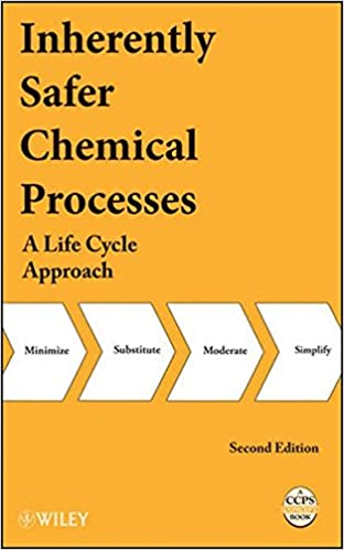 Inherently Safer Chemical Processes: A Life Cycle Approach: CCPS ...