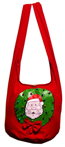 NaLuck, Borsa a tracolla donna Rosso rosso Large