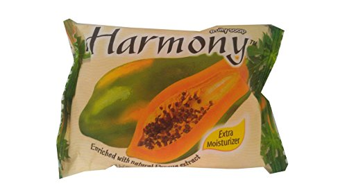 Harmony Fruity Soap  Papaya  Extra Moisturizer