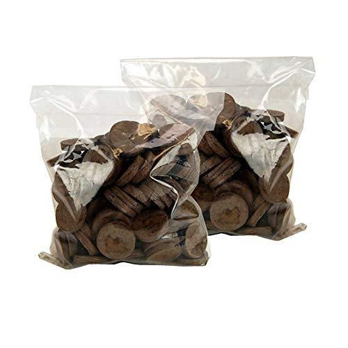 (100 Jiffy 7 Peat Pellets 42mm - Seeds Starting - Jiffy Peat Pellet Helps to Avoid Root Shock - 100 Jiffy Peat Pellets 42mm (1))