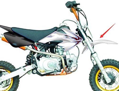 Schwarz Moligh doll Kunststoff Vorderrad f/ür Kotfl/üGel Schutz f/ür CRF50 Dirt Pit Bike