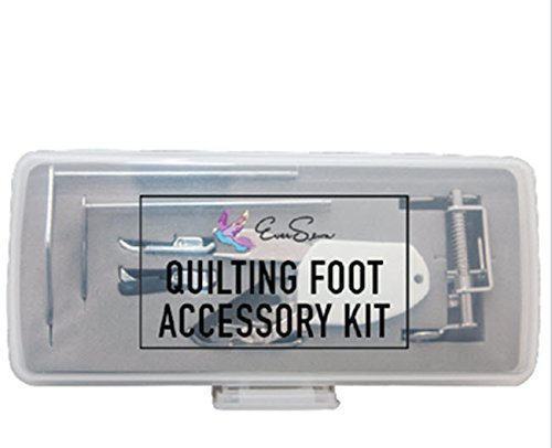 - Ever Sewn Eversewn 6-pc Accessory Quilting Foot Kit Low Shank