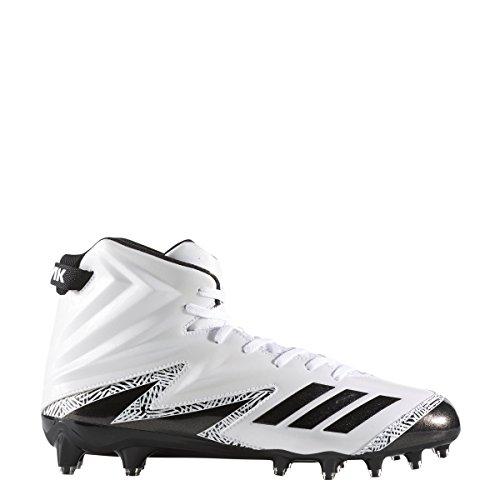 Adidas Buitenissig X Carbon Hoge Klamp Mens Voetbal Wit-core Zwart