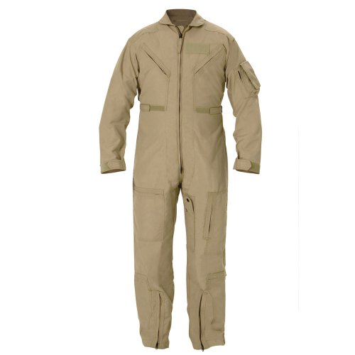 Propper Cwu 27/P Nomex Flight Suit,Air Force Tan,44S