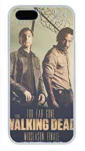 iCustomonline Case for iPhone 5S PC, The Walking Dead Rick Stylish Durable Case for iPhone 5S PC
