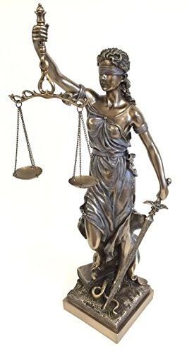 Bronze Finish Lady Justice Statue Sculpture 41pftVMOD0L