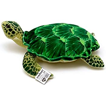 Amazon Com Melissa Doug Sea Turtle Giant Stuffed Animal Wildlife