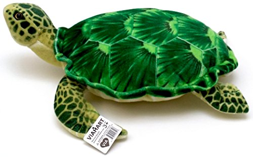 VIAHART Olivia the Hawksbill Turtle | 20 Inch Big Sea Turtle Stuffed Animal Plush | By Tiger Tale ()